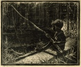 Gardiner   Boy Fishing with Willow Pole