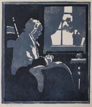 Gardiner | Old Woman Knitting