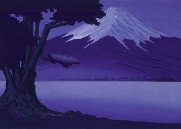 Miller | Moonlight on Fujiyama