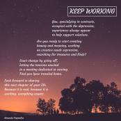 Keep Working | Amanda Papenfus