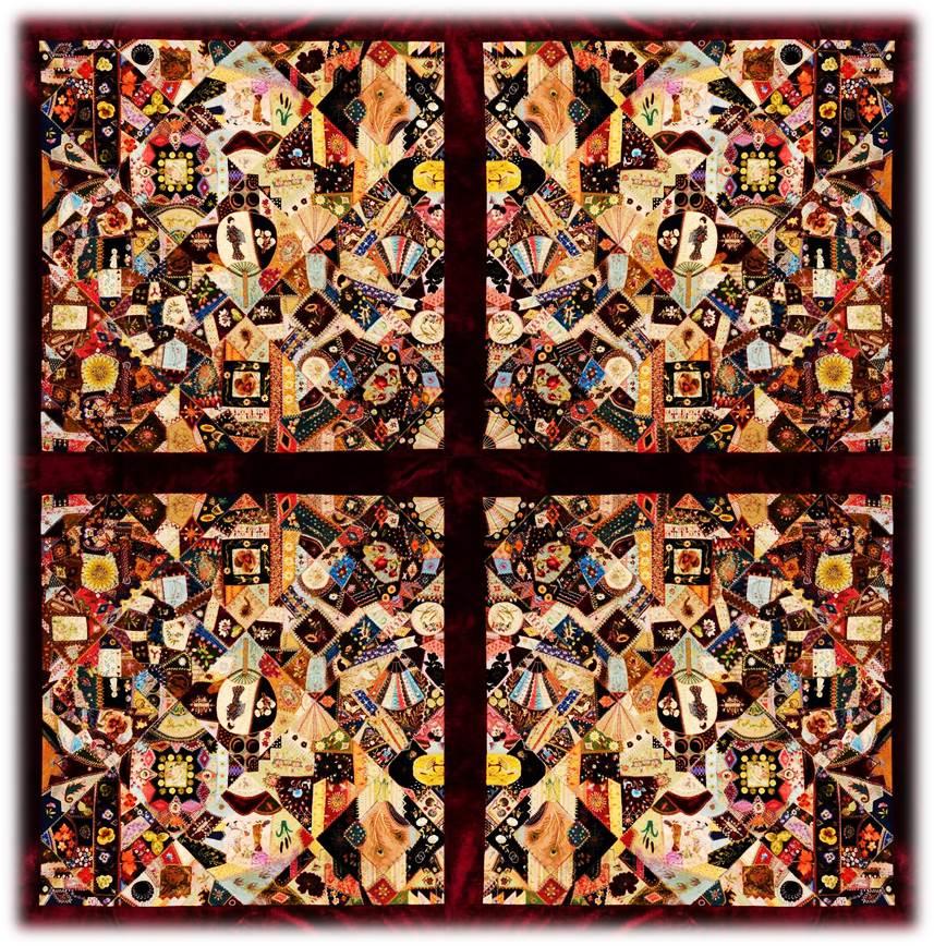 Kuan Yin's Window | found.femmages©susan.powers.bourne