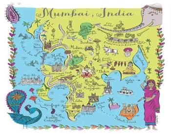 Mumbai color map