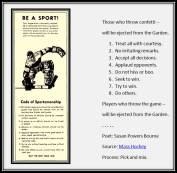 Be A Sport! | Susan Powers Bourne