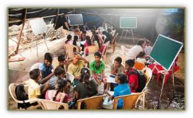 Classrooms in Mumbai's Seams | Nessa McCasey