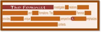 The Feminist   Susan Powers Bourne