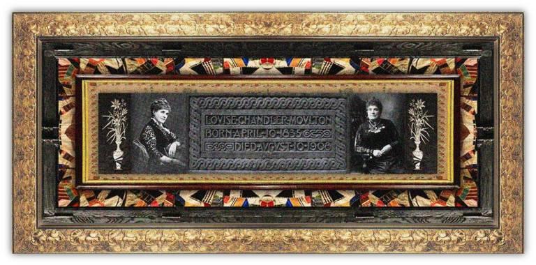 Louise Chandler Moulton(10 apr 1835 – 10 aug 1908 | Pomfret CT - Boston MA) poet, critic, short-story writer, prose fiction author, literary salon hostess | women.born.before © susan.powers.bourne