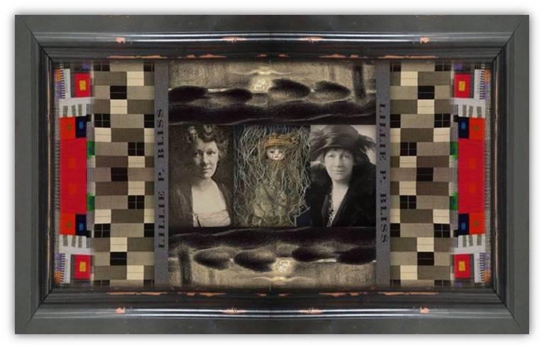 Lizzie [Lillie] Plummer Bliss(11 apr 1864 – 12 mar 1931 | Boston MA - New York NY) art patron / collector, philanthropist | women.born.before © susan.powers.bourne
