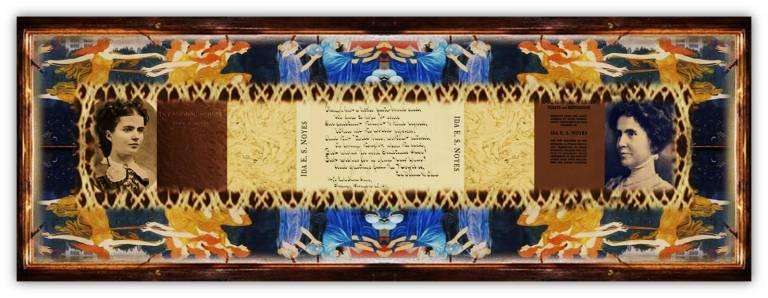Ida Elizabeth Smith Noyes(16 apr 1853 – 05 dec 1912 | Croton DE - Chicago IL) poet, speaker, clubwoman,Daughters of the American Revolution member | women.born.before © susan.powers.bourne