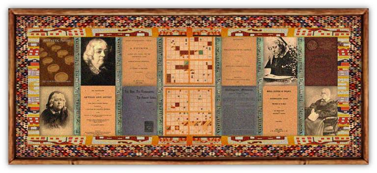 Elizabeth Palmer Peabody(16 may 1804 – 03 jan 1894   Billerica MA - Jamaica Plain MA) editor, writer, educator, translator, school founder, bookstore owner, Transcendentalist, kindergarten founder / teacher / activist   women.born.before © susan.powers.bourne