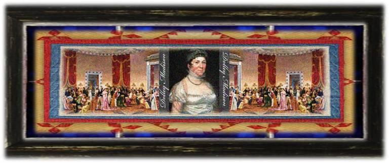 Dolley Payne Todd Madison(20 may 1768 – 12 jul 1849 | North Carolina Province, British America - Washington DC) US First Lady, memoirist, letter correspondent | women.born.before © susan.powers.bourne