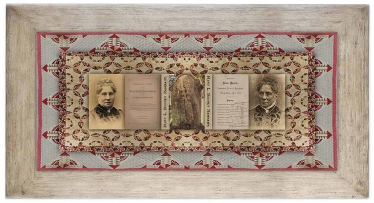 Mary Lucinda Bonney Rambaut(08 jun 1816 – 24 jul 1900 | Hamilton NY - Hamilton NY) educator, women's school founder,Native American rightsadvocate | women.born.before © susan.powers.bourne