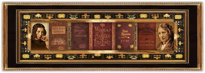 Harriet Elisabeth Beecher Stowe(14 jun 1811 – 01 jul 1896 | Litchfield CT - Hartford CT) poet, author, abolitionist, social reformer | women.born.before © susan.powers.bourne