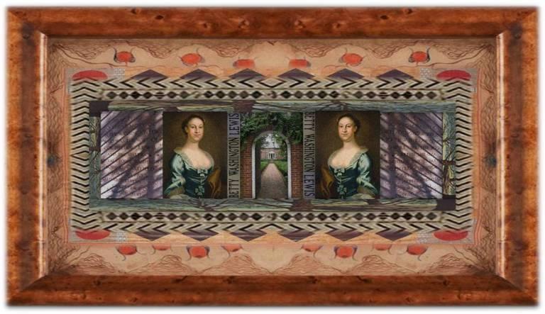 Elizabeth [Betty] Washington Lewis(20 jun 1733 – 31 mar 1797 | Westmoreland VA - Culpeper VA) storekeeper, US Presidential sister, political family member, aka aFounding Mother of America | women.born.before © susan.powers.bourne