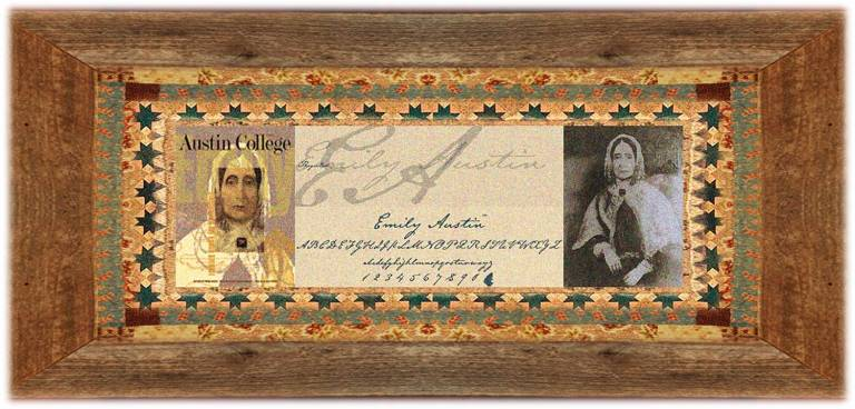 Emily Austin Perry(22 jun 1795 – 15 aug 1851 | Austinville VA - Jones Creek TX) pioneer, heiress, font innovator, religious / educational philanthropist | women.born.before © susan.powers.bourne