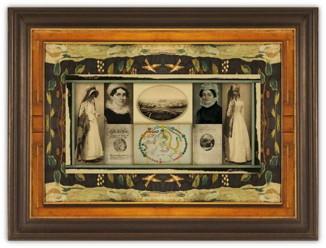 Sarah Pierce(26 jun 1767 – 19 jan 1852 | Litchfield CT - Litchfield CT) educator, girls' school founder, women's education advocate | women.born.before © susan.powers.bourne