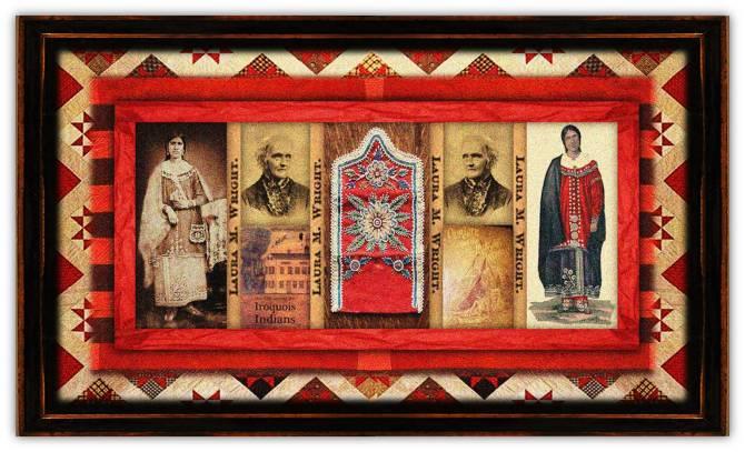 Laura Maria Sheldon Wright(10 jul 1809 – 21 jul 1886 | St Johnsbury VT - Iroquois NY) missionary, Seneca Iroquois rights activist / educator | women.born.before © susan.powers.bourne