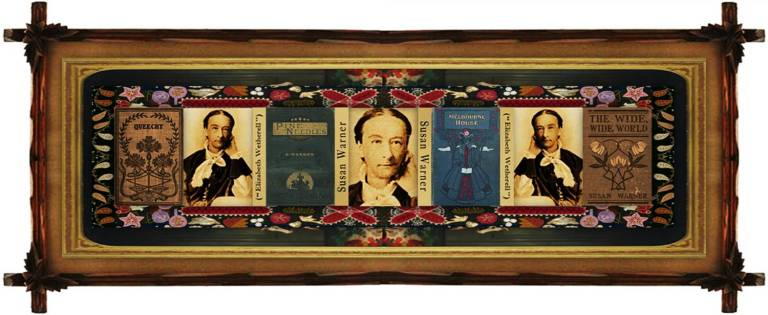 Susan Bogert Warner(11 jul 1819 – 17 mar 1885 | New York NY - Highland Falls NY)novelist, hymnist, teacher, religious / children's fiction author, aka Elizabeth Wetherell | women.born.before © susan.powers.bourne