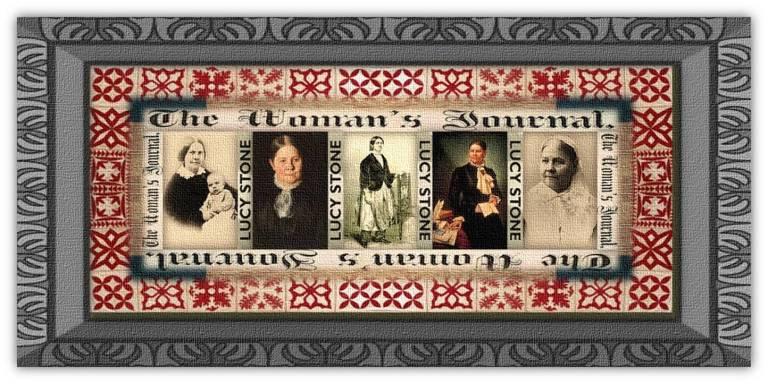 Lucy Blackwell Stone(13 aug 1818 – 19 oct 1893 | West Brookfield MA - Boston MA) writer, orator, suffragist, publisher, abolitionist, magazine founder / editor, women's rights activist / organizer | women.born.before © susan.powers.bourne