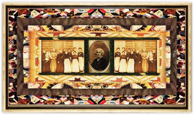 Anna L. Clapp(15 aug 1814 – 03 dec 1889 | CambridgeNY - Lee Center IL) Civil War nurse, Ladies Union Aid Society founder,Western Sanitary Commission president,female veteran nurse benefits / pensions activist / spokeswoman |women.born.before © susan.powers.bourne