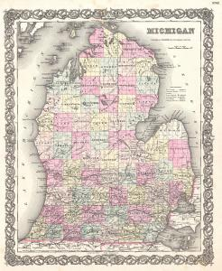 1855_Colton_Map_of_Michigan_-_Geographicus_-_Michigan-colton-1855