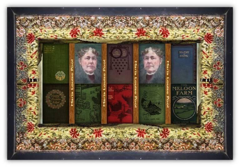 Maria Louise Pool(20 aug 1841 – 18 may 1898 | Rockland MA - Rockland MA) author, social novelist, magazine writer | women.born © susan.powers.bourne