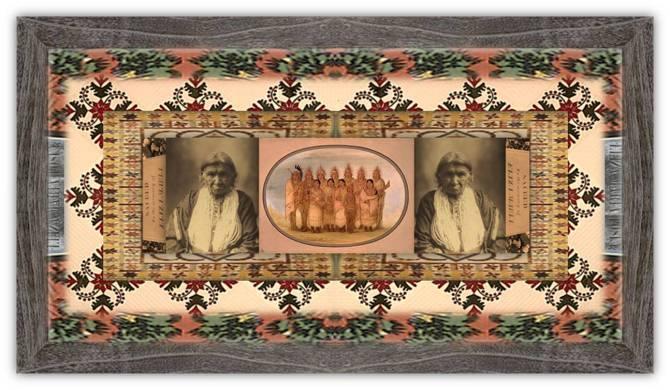 Eliza Maria Posey Street (26 aug 1792 – 02 feb 1847 | Fredericksburg VA - Agency IA) pioneer, folk / historical figure, settler wife of US Indian Agent, deeded 640 acres of Sca / Fox land | women.born © susan.powers.bourne