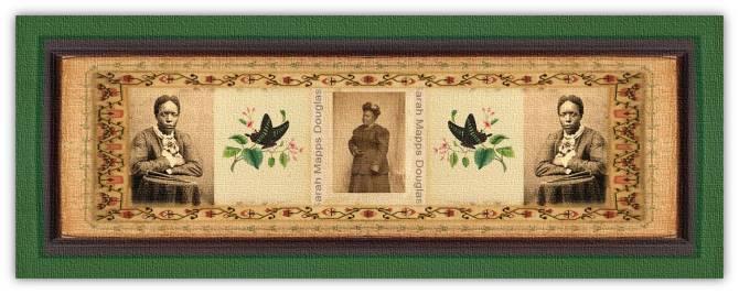 Sarah Mapps Douglass (09 sep 1806 - 08 sep 1882 | Philadelphia PA - Philadelphia PA)African-Americanartist, author, Quaker, educator, abolitionist, public lecturer, letterist / illustrator | women.born © susan.powers.bourne