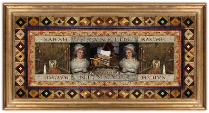 Sarah Franklin Bache(11 sep 1744 – 05 oct 1808 | Philadelphia PA - Philadelphia PA) patriot, harpsichordist, political hostess, social relief worker / organizer, US political family member | women.born © susan.powers.bourne