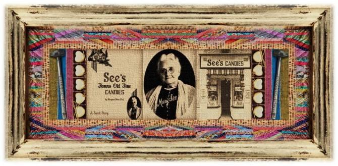 Mary Wiseman See(16 sep 1854 – 31 jul 1939 | Ontario CA - Ontario CA) candymaker, businesswoman | women.born © susan.powers.bourne