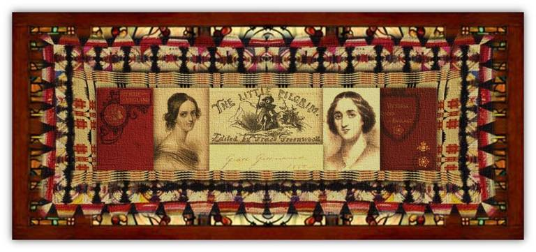 Sarah Jane Lippincott(23 sep 1823 – 20 apr 1904 | Pompey NY - New Rochelle NY)poet, editor,novelist, essayist, journalist, correspondent, pen name: Grace Greenwood |women.born © susan.powers.bourne
