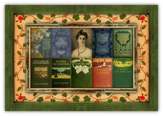 Emily Lilian Whiting(03 oct 1847 – 30 apr 1942   OlcottNY - Boston MA) poet, author, journalist, literary editor, art / travel writer, esoteric spiritual thinker / philosopher  women.born © susan.powers.bourne