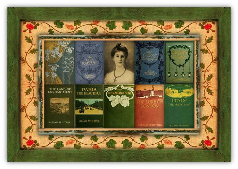 Emily Lilian Whiting(03 oct 1847 – 30 apr 1942 | OlcottNY - Boston MA) poet, author, journalist, literary editor, art / travel writer, esoteric spiritual thinker / philosopher |women.born © susan.powers.bourne