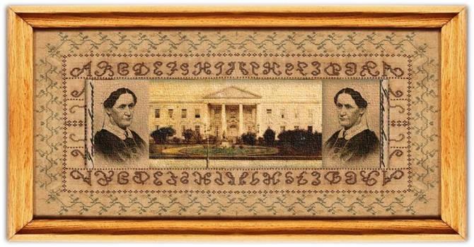 Eliza McCardle Johnson (04 oct 1810 – 15 jan 1876 | Telford TN - Greeneville TN) US First Lady, Presidential tutor / educator