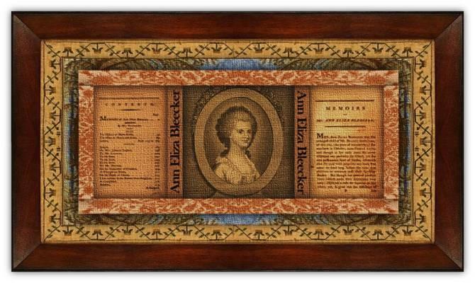 Ann Eliza Schuyler Bleecker(11 oct 1752 – 23 nov 1783 | New York, New York Colony - Albany NY) poet, short story writer, letter correspondent | women.born © susan.powers.bourne