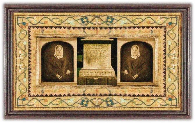 Mary Hempstead Keeney Lisa(25 oct 1782 - 03 sep 1869 | New London CT - Galena IL) folk figure, aka Aunt Manuel, first white woman to enter upper Missouri Indian territory | women.born © susan.powers.bourne