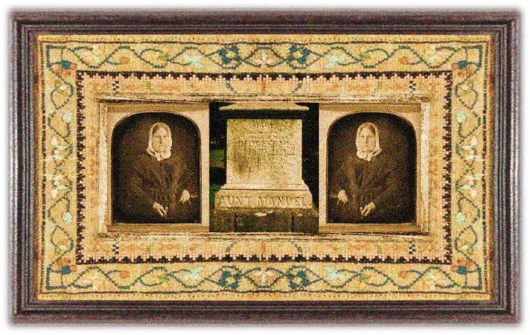 Mary Hempstead Keeney Lisa (25 oct 1782 - 03 sep 1869 | New London CT - Galena IL) folk figure, aka Aunt Manuel, first white woman to enter upper Missouri Indian territory | women.born © susan.powers.bourne