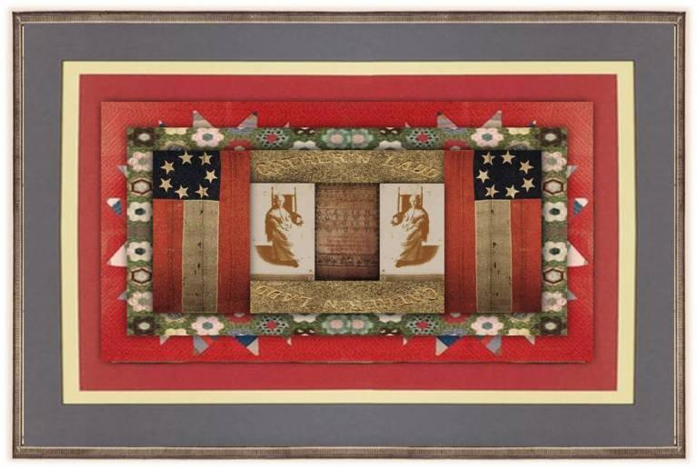 Catherine Stratton Ladd(28 oct 1809 – 30 jan 1899 | Richmond VA - Buckhead SC) poet, educator, essayist, playwright, Civil War nurse, early Confederate flag designer | women.born © susan.powers.bourne