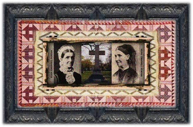 Eliza Chappell Porter(05 nov 1807 – 01 jan 1888 | Geneseo NY - Santa Barbara CA) educator, Civil War nurse, social activist / reformer, normal school founder, Chicago's first public school teacher | women.born © susan.powers.bourne