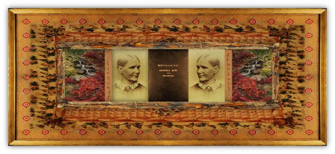 Ann Eliza Worcester Robertson(07 nov 1826 – 19 nov 1905 | Brainerd TN - Muskogee OK) author, editor, teacher, missionary, translator, Mvscogee / English linguistics scholar | women.born © susan.powers.bourne