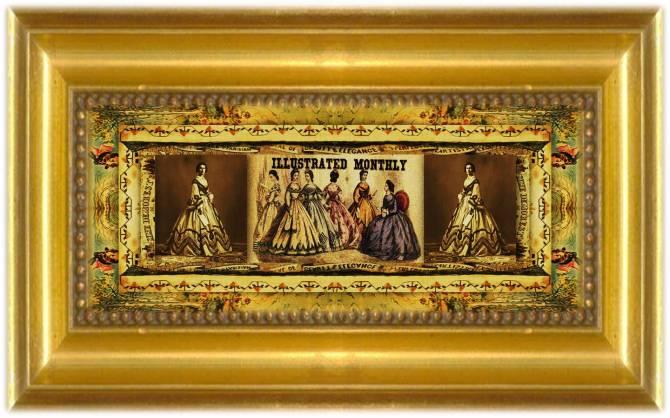 Ellen Louise Curtis Demorest(15 nov 1825 – 10 aug 1898 | Schuylerville NY - New York NY) milliner, fashion arbiter, magazine founder, tissue paper sewing pattern inventor / innovator | women.born © susan.powers.bourne