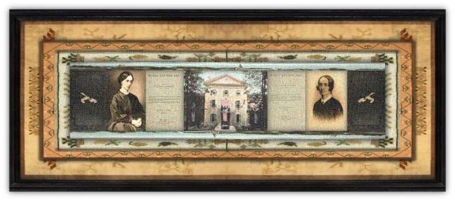 Eliza Woodson Burhans Farnham(17 nov 1815 – 15 dec 1846 | Rensselaerville NY- New York NY)novelist, feminist, abolitionist, women's prison reform activist, first female warden of Sing Sing Prison |women.born © susan.powers.bourne