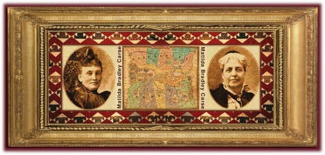 Matilda Bradley Carse(19 nov 1835 - 03 jun 1917 | Saintfield, Ireland - Park Hill-on-Hudson NY) Irish-American social reformer, women's rights activist, businesswoman, founded Woman's Temperance Publishing Association (WTPA) | women.born © susan.powers.bourne