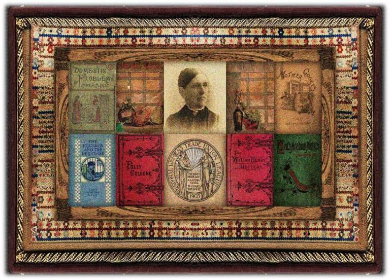 Abby Morton Diaz(22 nov 1821 – 01 apr 1904 | Plymouth MA - Belmont MA) teacher, women's rightsorganizer,Brooks Farm experimental commune member, founded Women's Educational and Industrial Union of Boston | women.born © susan.powers.bourne