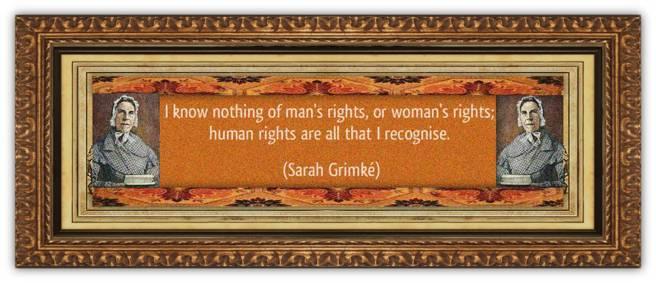 Sarah Moore Grimké(26 nov 1792 – 23 dec 1873 | Charleston SC - Boston MA) writer, speaker, suffragist, abolitionist, feminist, women's lawyer / law activist | women.born © susan.powers.bourne