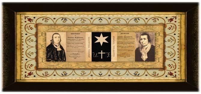 Jemima Wilkinson(29 nov 1752 – 01 jul 1819   Cumberland RI - Jerusalem NY)memoirist, visionary, women's rights activist,charismatic Quaker evangelist, Honorary Seneca Chief, akaThe Publick Universal Friend   women.born © susan.powers.bourne