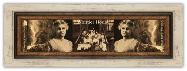Cornelia Foster Bradford (04 dec 1847 - 15 jan 1935 | Granby NY - Montclair NJ) social worker / reformer, kindergarten advocate, founded first settlement house in New Jersey called Whittier House