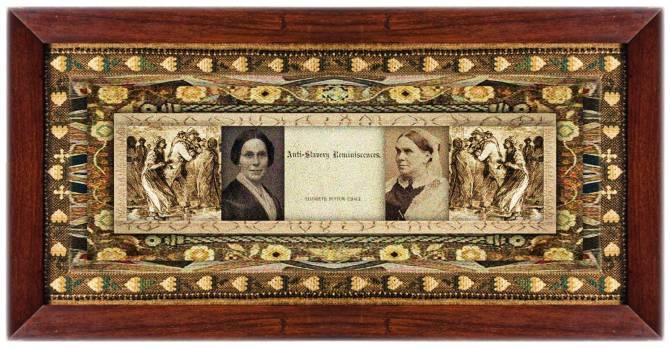 Elizabeth Buffum Chace (09 dec 1806 - 12 dec 1889 | Providence RI - Providence RI) Quaker, abolitionist, social reformer, women's rights activist, president Rhode Island Suffrage, Pembroke College co-founder | women.born.today © susan.powers.bourne