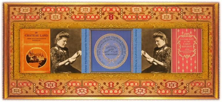 Anne Hollingsworth Wharton(15 dec 1845 - 29 jul 1928 | Southampton Furnace PA - Philadelphia PA) author, essayist, genealogist, US Colonial / Revolutionary historian | women.born.today © susan.powers.bourne