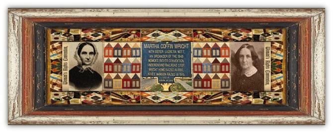 Martha Coffin Wright(25 dec 1806 – 04 jan 1875 | Boston MA - Boston MA) Quaker, feminist, abolitionist, writing / painting teacher, Declaration of Sentiments signer, Underground Railroad activist |women.born.today © susan.powers.bourne