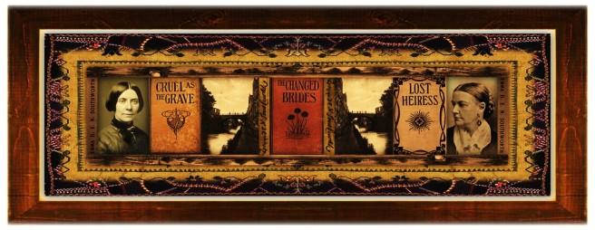 Emma Dorothy Eliza Nevitte [E. D. E. N.] Southworth(26 dec 1819 – 30 jun 1899 | Washington DC - Washington DC ) novelist, short fiction writer | women.born.today © susan.powers.bourne